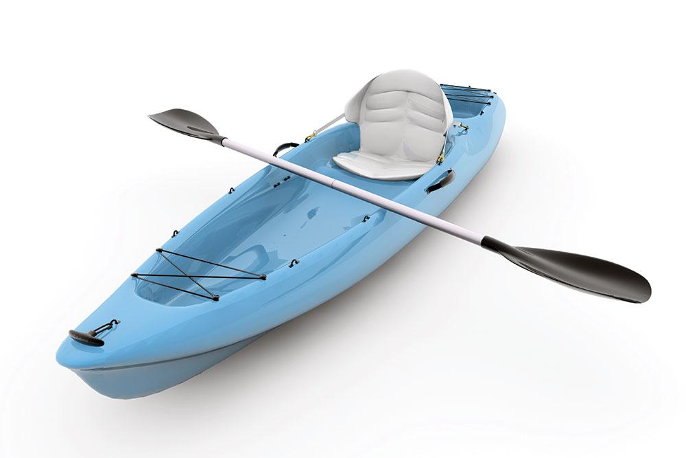 Kayak Blue