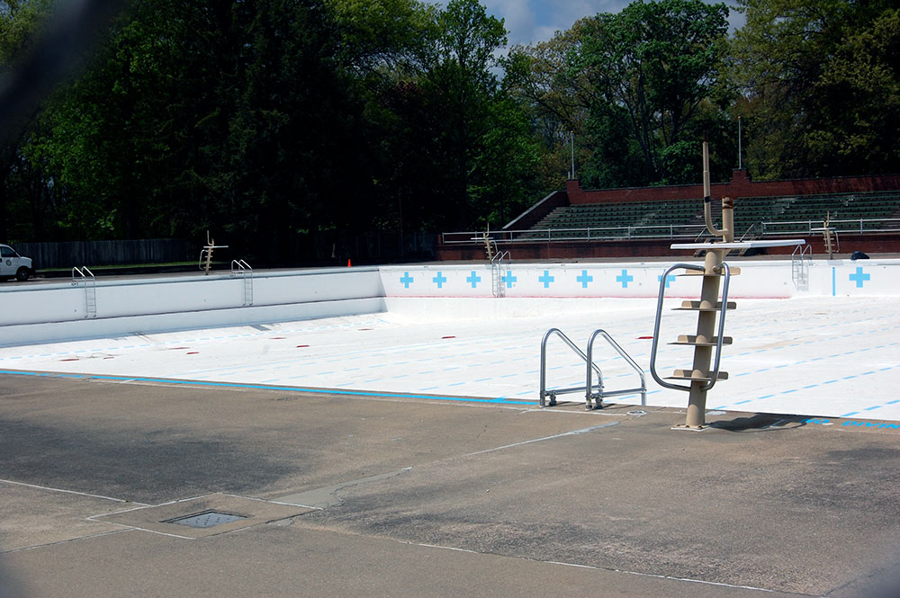Empty North Park Pool