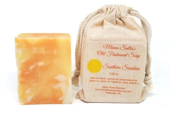Islandfresh Skincare Southern Sunshine Old Fashion Soap