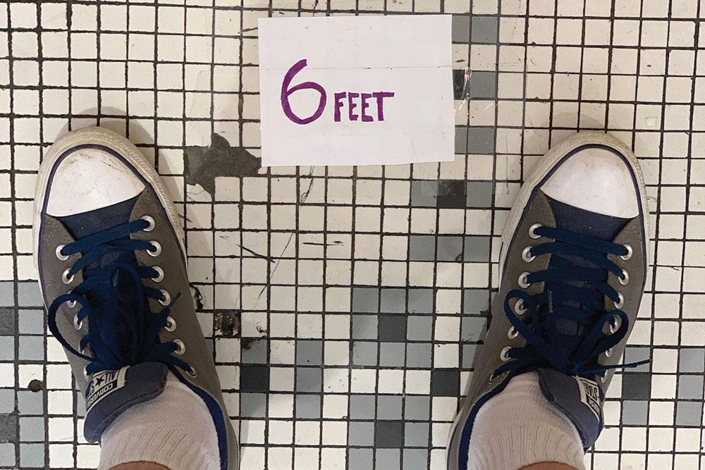 6 Feet Jun20