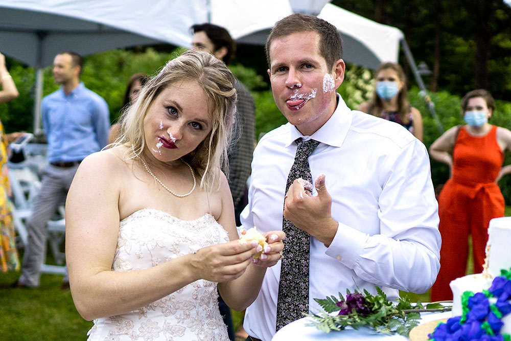 Rachael And Dave's Wedding Social Media 14