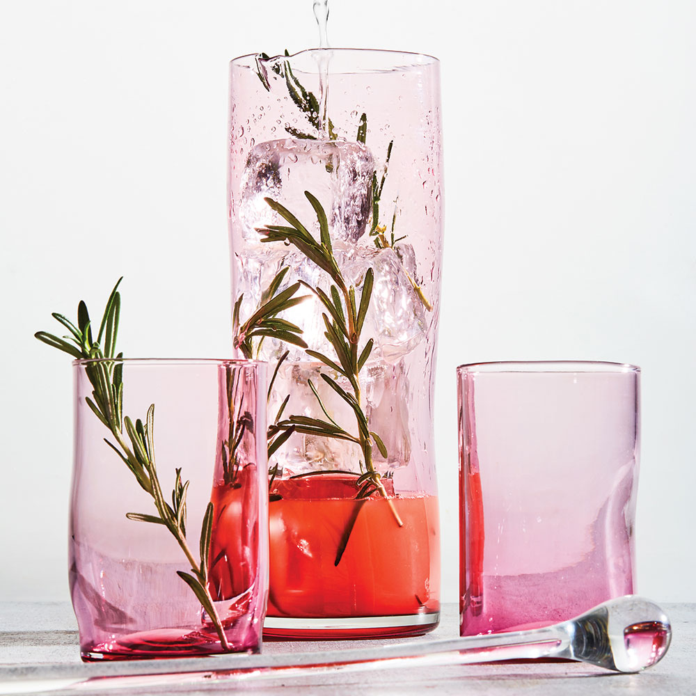 Cranberry Glass Hmaug20