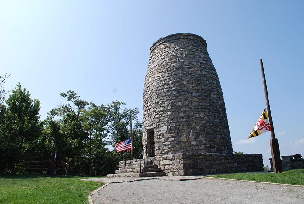 Washington Monument At South Mountain