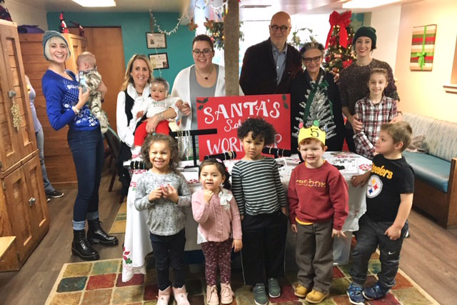 Sabika Santas Workshop 2018