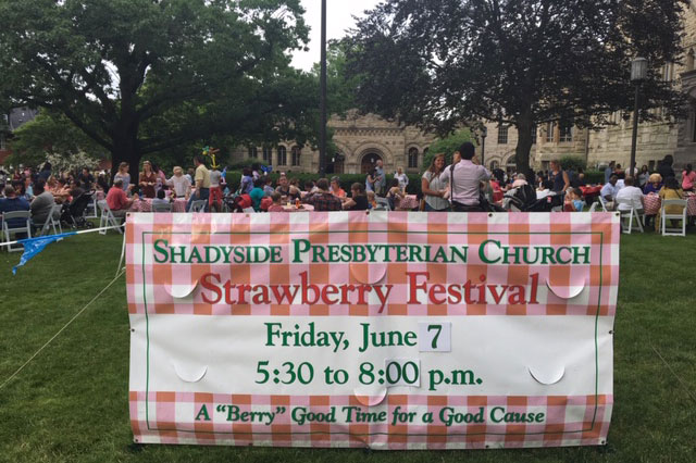 Strawberry Festival Sign 2019
