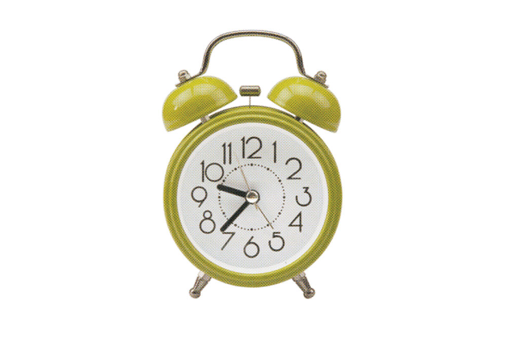 Clock Alarm Isolated