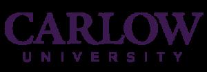 Carlow University Logo Purple