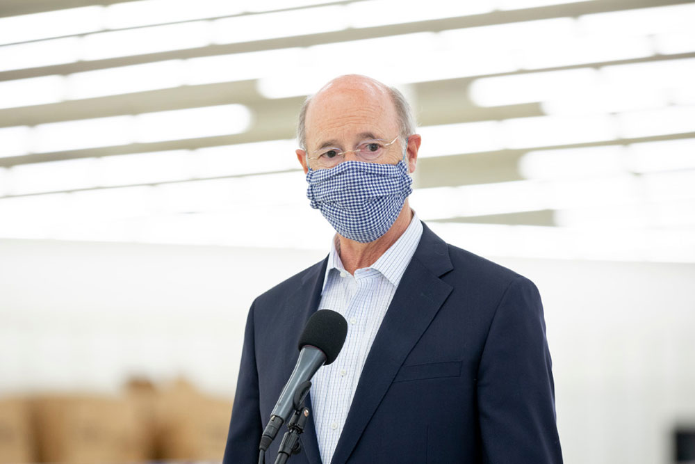 Gov Wolf Pennsylvania Businesses Endorse Mask Wearing To Protect Employees Customers Communities