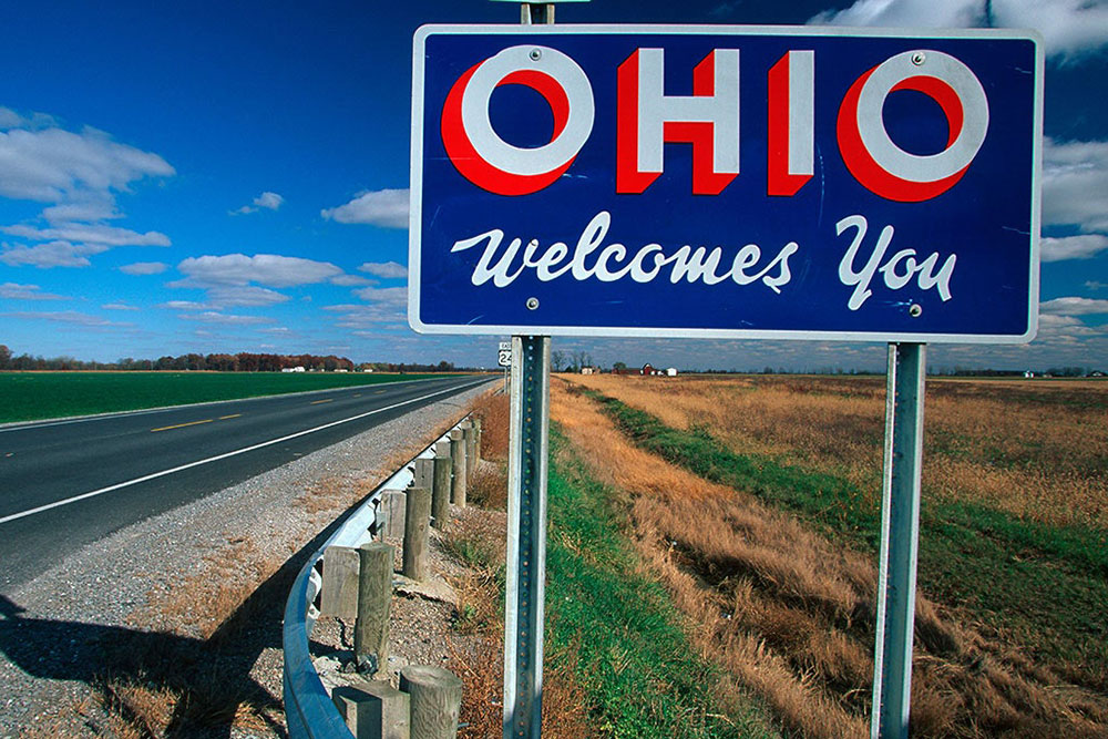 Ohio Welcome Signs