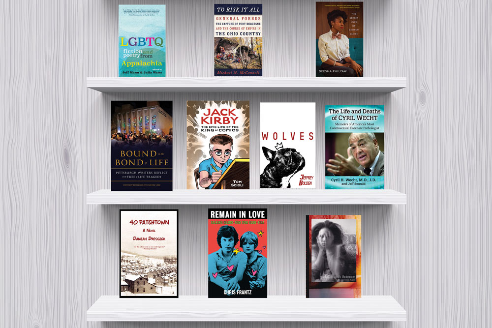 Bookshelf Empty Flat
