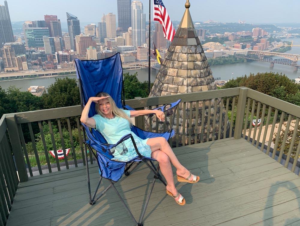 2 Grandview Anita Davis Roof In Huge Camp Chair