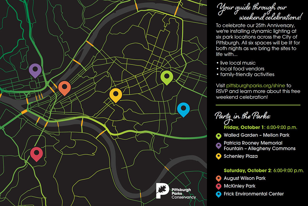 Ppc 25th Anniversary Weekend Map