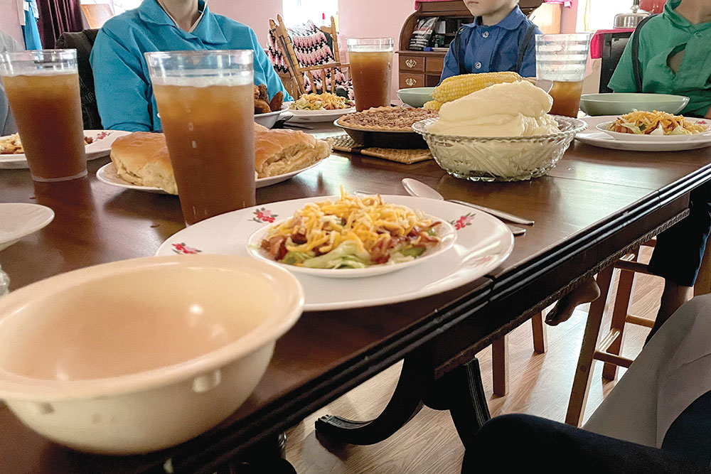 Amish Dinner Nov21