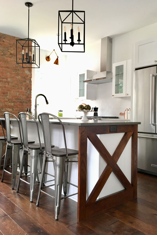 Home How To The Making Of A Modern Farmhouse Kitchen Pittsburgh Magazine