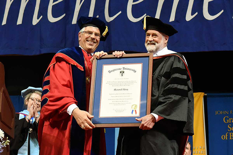 Duquesne S Commencement Ceremony Was All About Fred Rogers Pittsburgh Magazine